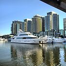 Money in Docklands by Larry Lingard-Davis