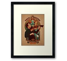 The Science of Deduction - PRINT Framed Print