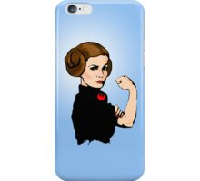 She Can Do It!  iPhone Case/Skin
