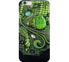 Green Lizard Skin iphone ipod Cover iPhone Case/Skin