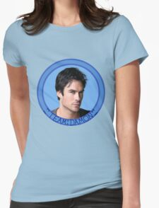 Team Damon - TVD - The Vampire Diaries - (Designs4You) Womens Fitted T-Shirt