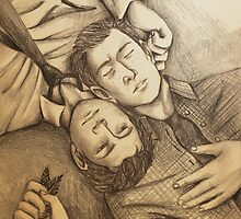 Destiel Naptime by AngelOf221B