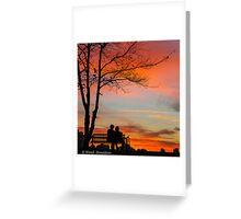 Sunset Dreams Greeting Card