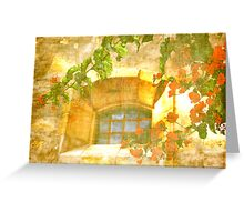 Adobe Window Greeting Card