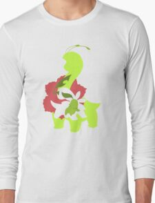 Chikorita - Bayleef - Meganium Long Sleeve T-Shirt