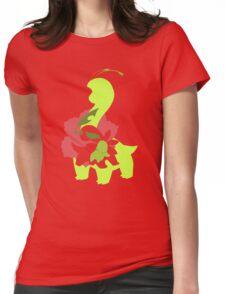 Chikorita - Bayleef - Meganium Womens Fitted T-Shirt
