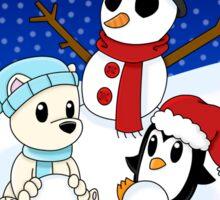 Let's Build a Snowman! Sticker