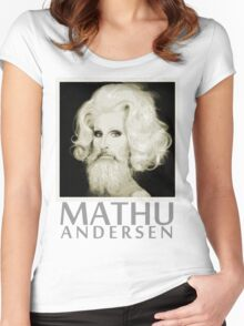 Makeup Artist Mathu Andersen Women's Fitted Scoop T-Shirt