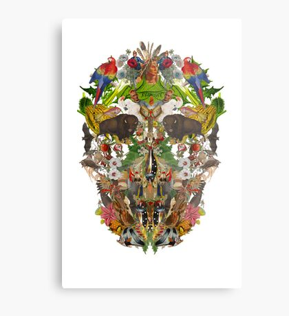 Ancient Skull Metal Print