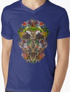 Ancient Skull Mens V-Neck T-Shirt