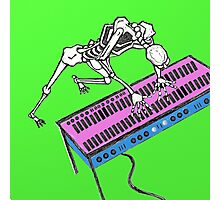 Skeleton At The Keyboard Photographic Print