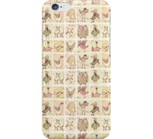 cute birds iPhone Case/Skin