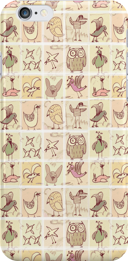 cute birds by Marianna Tankelevich