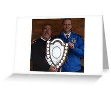 Cuddington FC - Crewe Junior Shield Winners 2013 Greeting Card