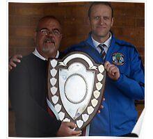 Cuddington FC - Crewe Junior Shield Winners 2013 Poster