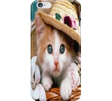 Fancy Cat iPhone Case/Skin