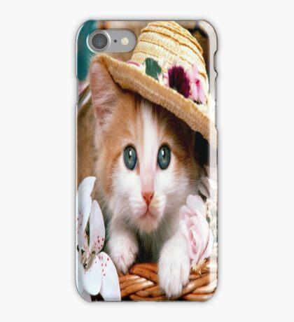 Fancy Cat iPhone Case/Skin