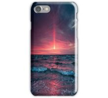 night beach iPhone Case/Skin