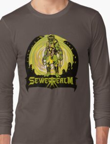 SewerRealm -Yellow Long Sleeve T-Shirt