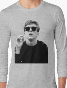 Black and White Brian Breakfast Club Long Sleeve T-Shirt