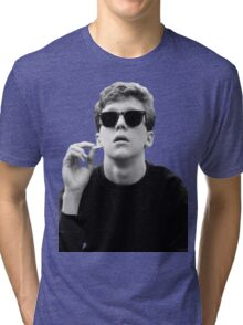 Black and White Brian Breakfast Club Tri-blend T-Shirt