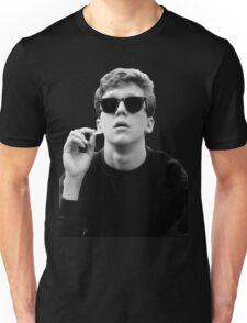 Black and White Brian Breakfast Club Unisex T-Shirt