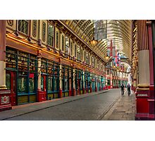 Leadenhall Market: London. Photographic Print