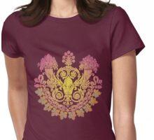 Cornucopia Princess Damask Womens Fitted T-Shirt