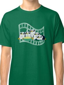Movie Night for Penguins  Classic T-Shirt