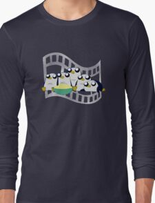 Movie Night for Penguins  Long Sleeve T-Shirt