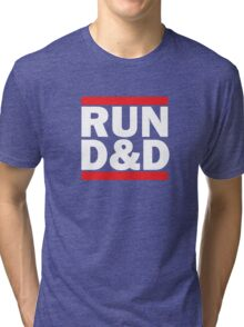 Run Dungeons and Dragons Tri-blend T-Shirt