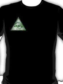 All Seeing Eye - Small logo T-Shirt