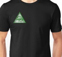 All Seeing Eye - Small logo Unisex T-Shirt