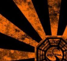 Dharma logo-Lost Sticker