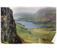 Buttermere From The Ascent Of Haystacks Poster