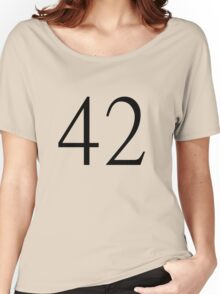 42 tee Women's Relaxed Fit T-Shirt