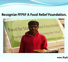 Know FFSPF a Food Relief Foundation.  by vernicalogic