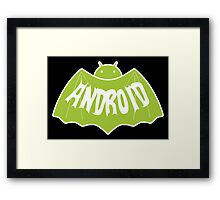 Android (Batman Style) Framed Print