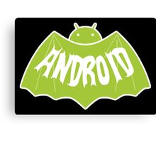 Android (Batman Style) Canvas Print