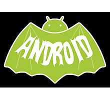 Android (Batman Style) Photographic Print