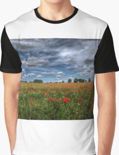 Essex Poppy Field Graphic T-Shirt