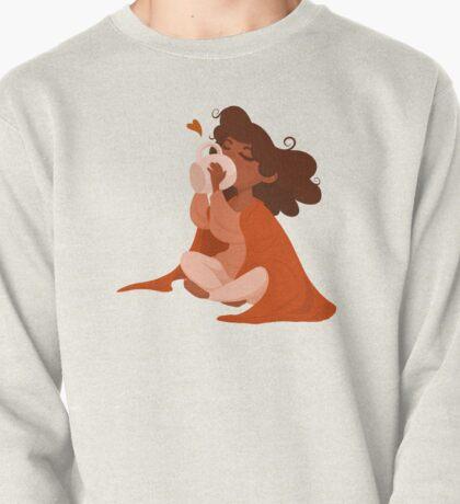 Morning Comforts in Orange Pullover