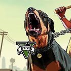 Grand Theft Auto 5 W/Dog by Dragonz