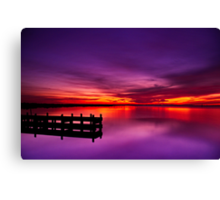 """Swan Bay Serenity"" Canvas Print"