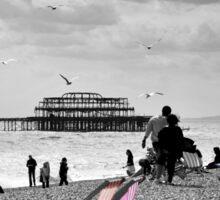 Brighton Seaside Sticker