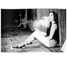 Smoking Beauty Poster