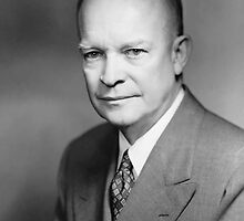 President Dwight Eisenhower  by warishellstore