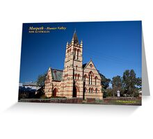 Immaculate Conception Catholic (1897) Church Greeting Card
