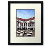 Colonial Charm Framed Print