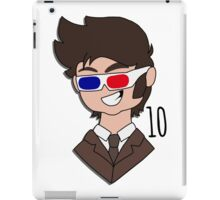 Tenth Doctor - Doctor Who iPad Case/Skin
